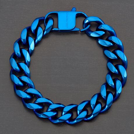 Curb Chain Bracelet // 14mm