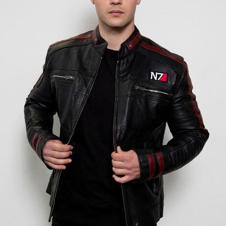 Mass Effect N7 Leather Jacket // Black (XS)