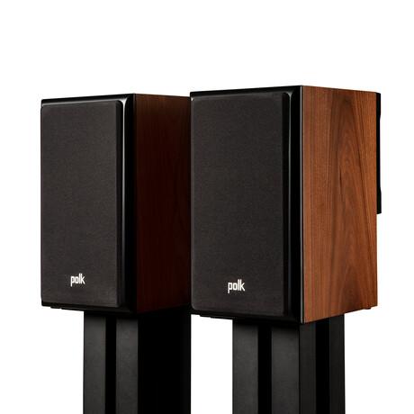 LEGEND L100 // The Little Big Bookshelf Speakers // Pair of 2 (Black)