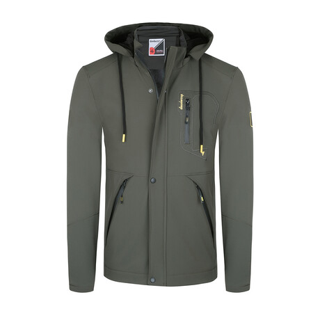 Keith Jacket // Olive (Small)