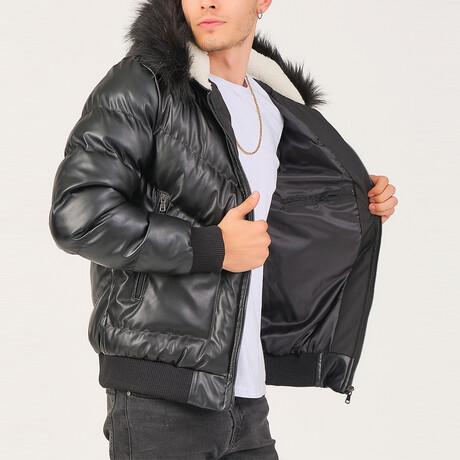 Austin Jacket // Black (Small)