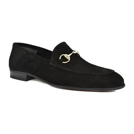 Alberto Shoe // Black Suede (Euro: 39)