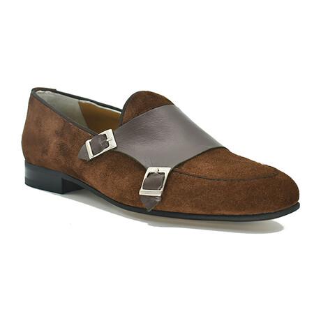 Luigi Shoe // Brown Suede (Euro: 39)