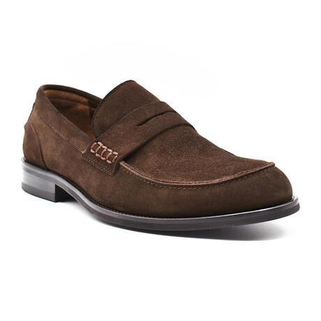 Enzo Shoe // Brown Suede (Euro: 39)