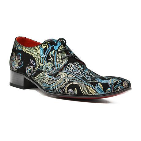 Gianni Shoe // Blue Paisley (Euro: 39)