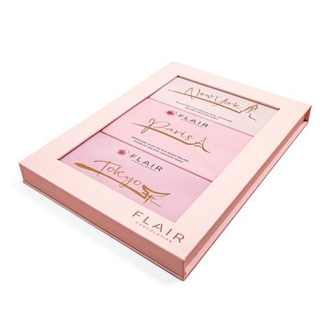 Ruby Chocolate Gift Box // New York + Paris + Tokyo // 3 oz Each