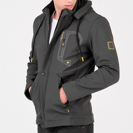 Keith Jacket // Anthracite (Small)