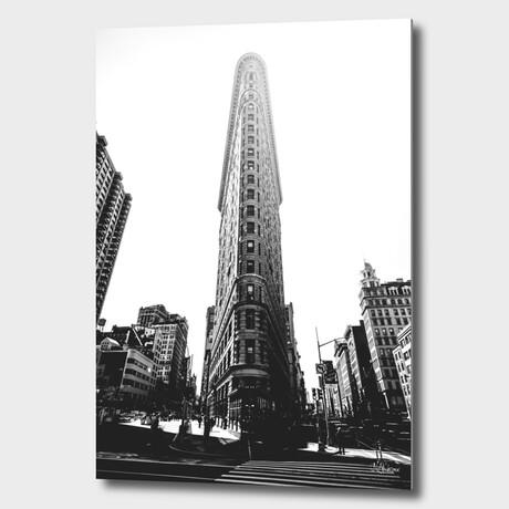 "NYC //  Flatiron // 01 (12""H x 8""W x 1.5""D)"