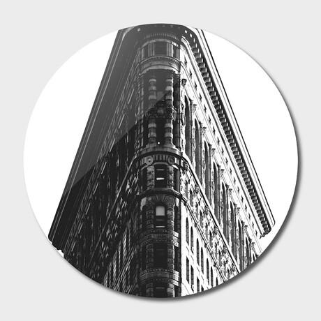 """NYC //  Flatiron // 02 // Round (16""""Ø)"""