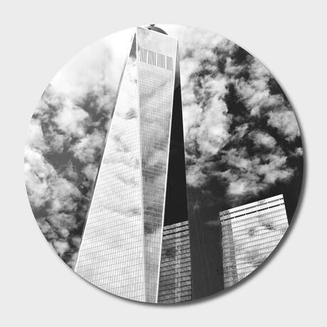 """NYC // Lower // Manhattan // 01 // Round (16""""Ø)"""
