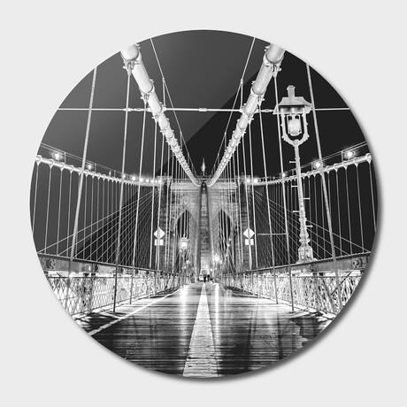 "NYC //  Brooklyn //  Bridge // 02 // Round (16""Ø)"