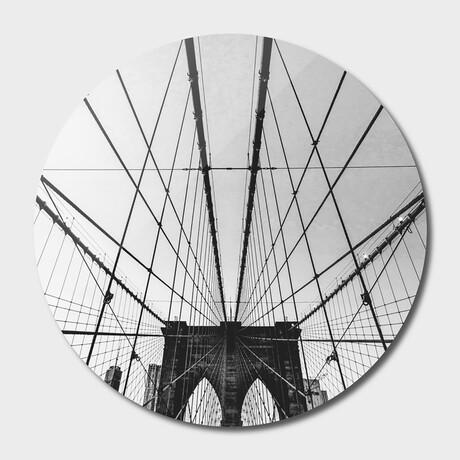 "NYC //  Brooklyn //  Bridge // 03 // Round (16""Ø)"