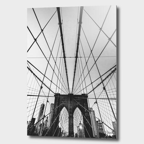 """NYC //  Brooklyn //  Bridge // 03 (12""""H x 8""""W x 1.5""""D)"""