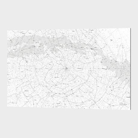 """Galaxy Map (8""""H x 12""""W x 1.5""""D)"""