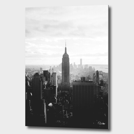 """NYC //  Empire //  State // 01 (12""""H x 8""""W x 1.5""""D)"""