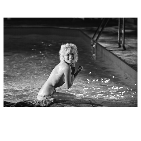 "Marilyn Monroe // Limited Edition Signed Print IX (30""H x 40""W)"