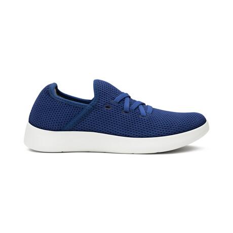 Women's Breezy Laced Shoes // Navy (Women's US Size 5)