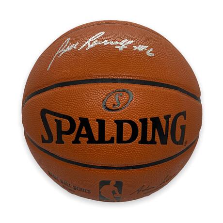 Bill Russell // Signed Basketball // Boston Celtics