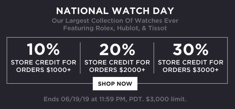 National Watch Day Promo (web banners)