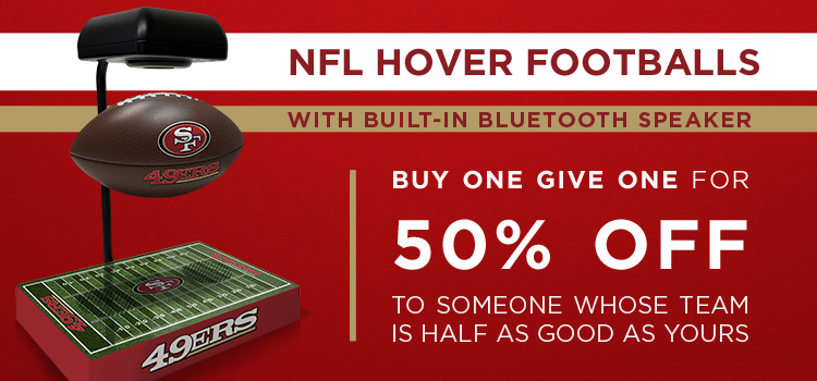 Hover Footballs BOGO 50% (Web Banners)