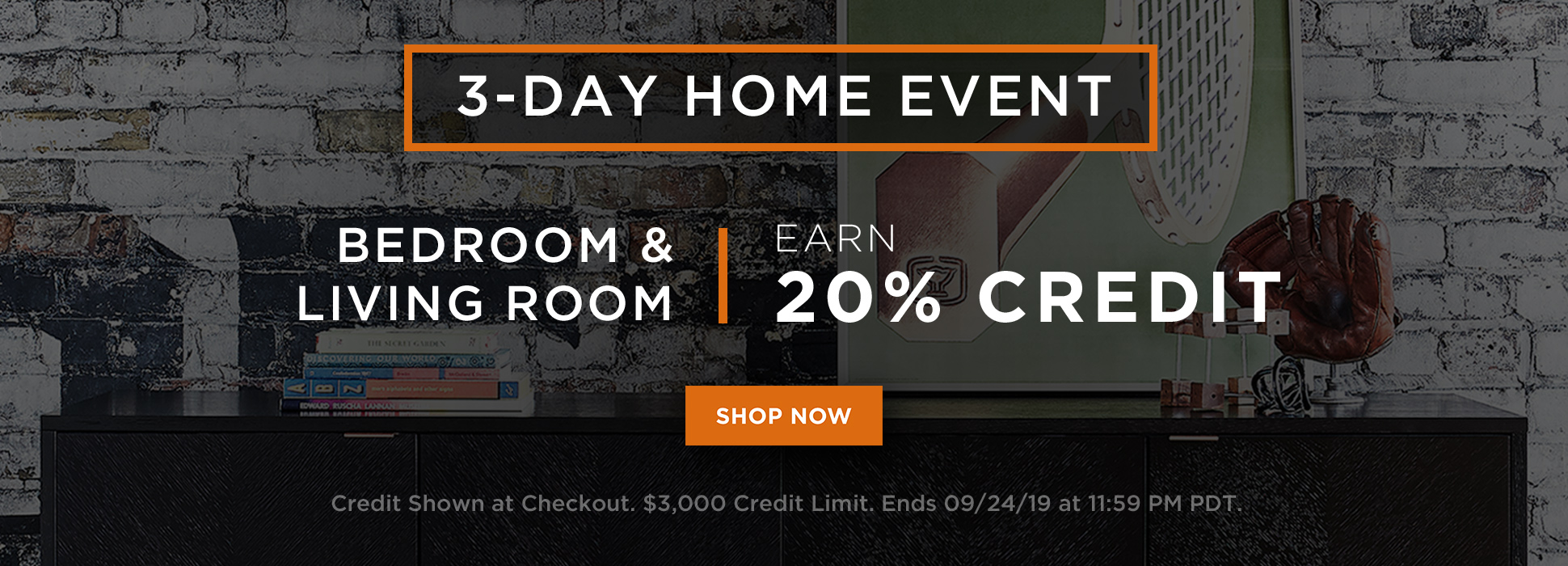 Home Event - Bedroom + Living (Web Banners)