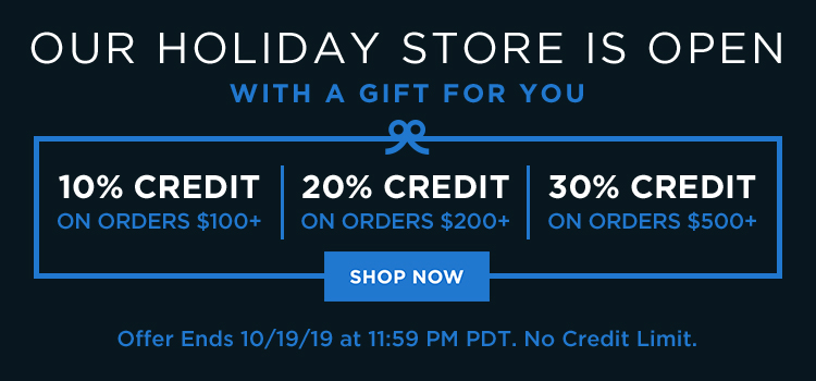 Tiered Sitewide/Holiday Store Launch (Web Banner)