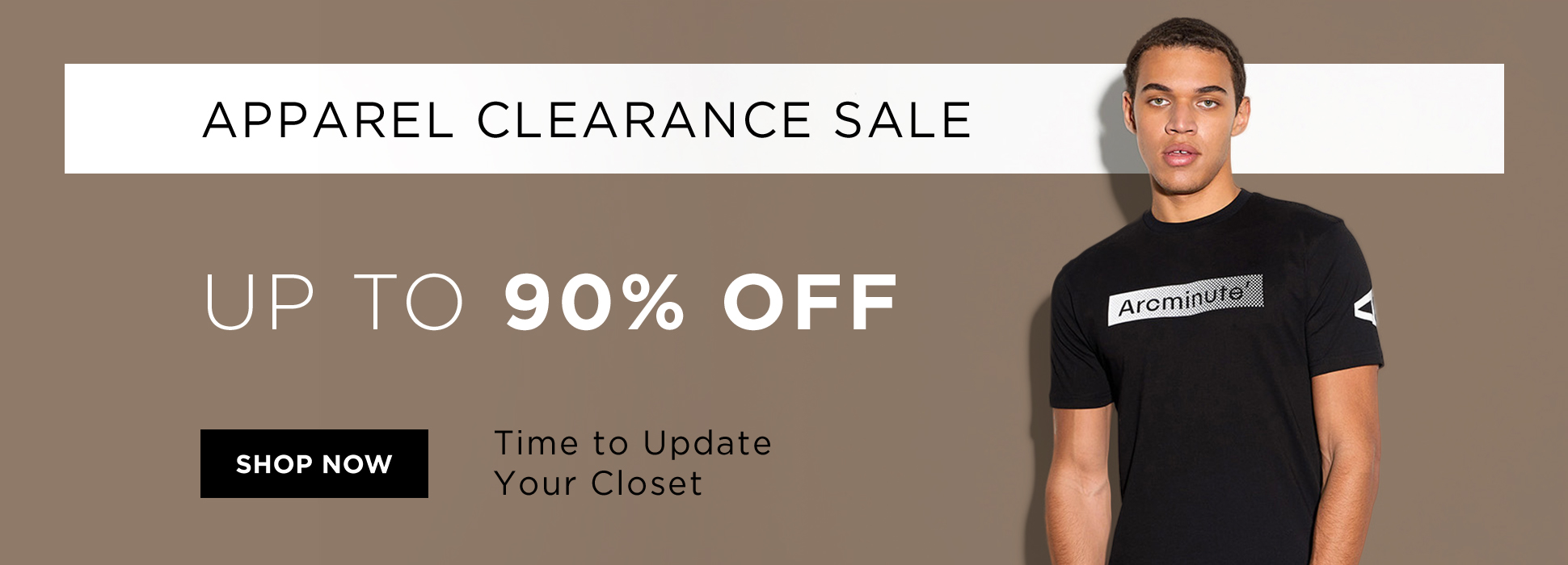 Apparel Clearance (Web Banner)