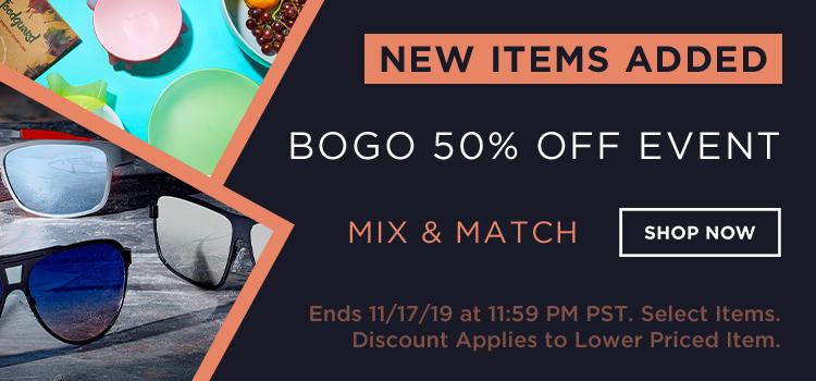 Holiday BOGO 50% Off - Day 2 (Web Banner)