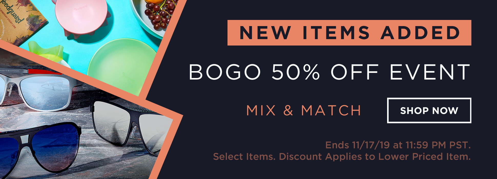 Holiday BOGO 50% Off - Day 2 (Web Banner)