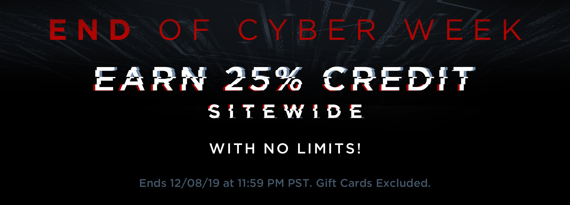 Cyber Week Final Day (Web Banner)