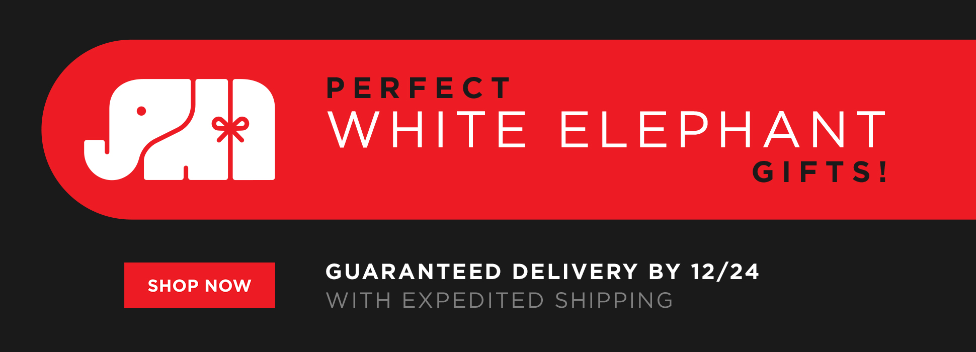 White Elephant Gifts (Web Banner)