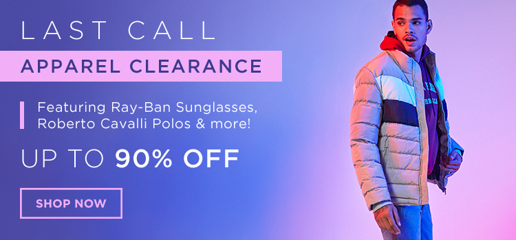 Last Call Fashion Clearance (Banners)