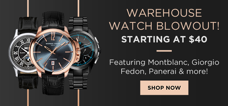 Warehouse Watch Sale (Banners)