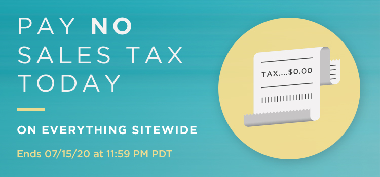 July Tax Day Sitewide (Banners)