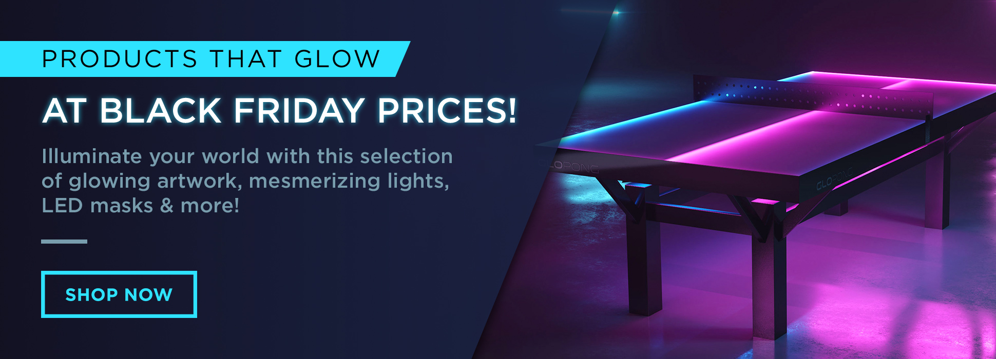 Black Friday Glowing Deals (Banners)
