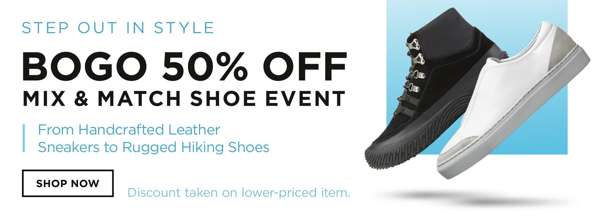 Shoe BOGO (banners)