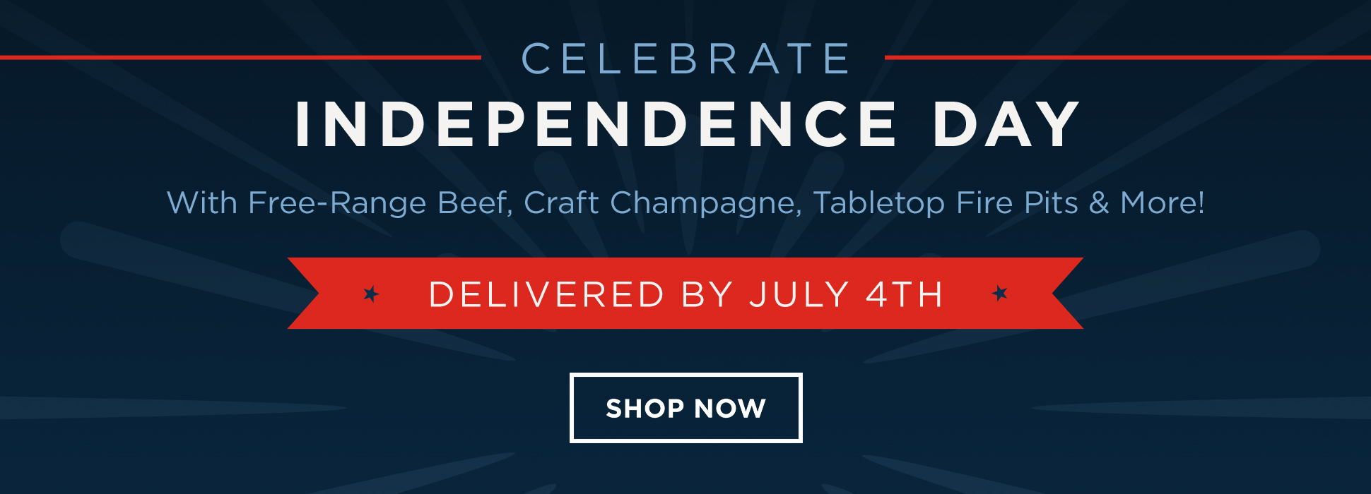 Delivered by July 4th (banners)