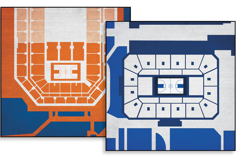 Basketball Arena Prints