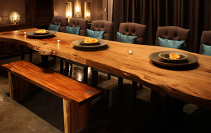 Artemano Live Edge Salvaged Wood Furnishings Touch