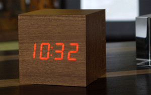 Gingko-Eco. Innovative LED Alarm Clocks