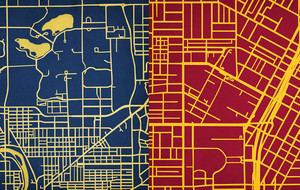Campus Maps - Rep Your School - Touch of Modern