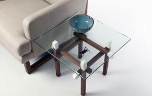 Artless matchstick end table medium third