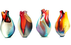 Tsunami Glassworks Blown Glass Artworks