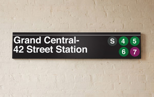 Underground Signs. Empire State of Mind