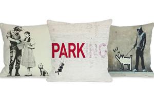 Banksy Pillows