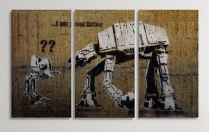 Banksy Triptychs