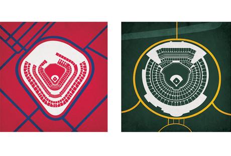 Baseball Stadium Prints