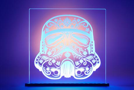 Star Wars LED Art