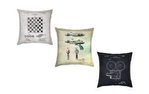 Blueprint Pillows