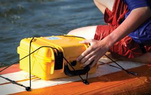 Waterproof Wireless Speaker with Dry Storage